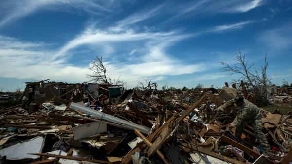 Moore, Oklahoma tornado devastation