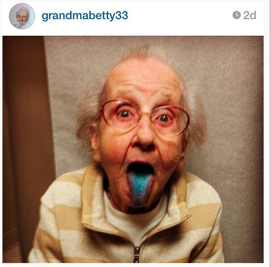 Grandma Betty Instagram