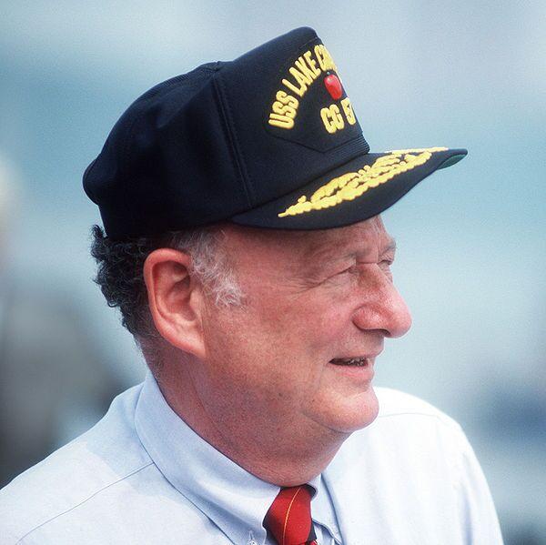 600px-Edward_Koch_at_commissioning_of_USS_Lake_Champlain_(CG-57)_cropped