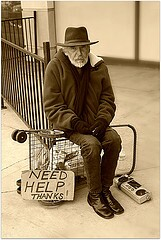 old man poverty