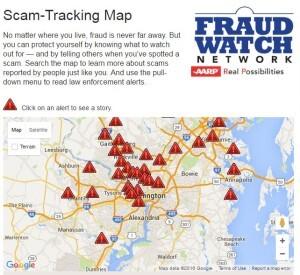 Scam map