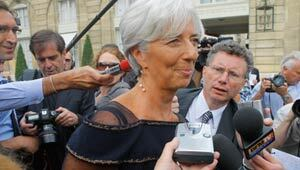 Christine Lagarde, new managing director of the International Monetary Fund