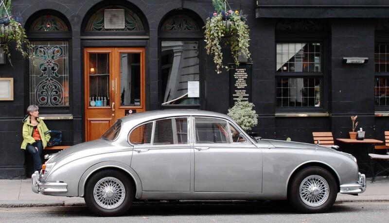 Jaguar Car in London