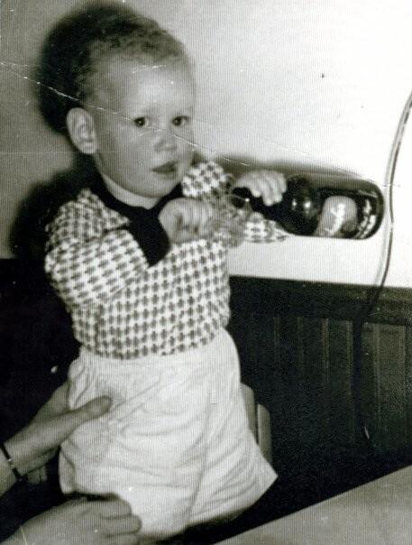 Hugh Baby Pic