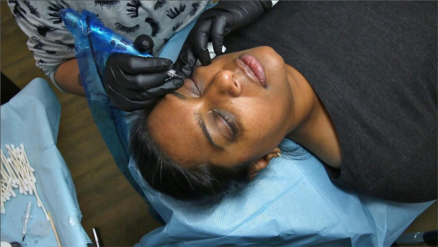 Permanent Eyeliner, Before and After the Procedure