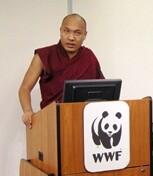 Karmapa at WWF