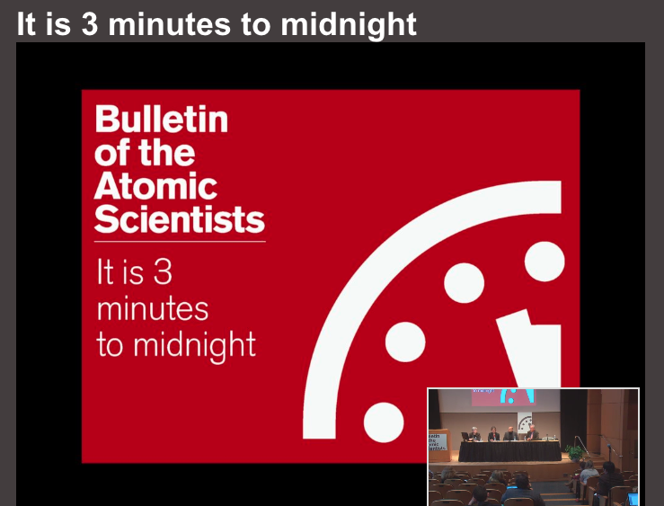 Doomsday Clock 2015
