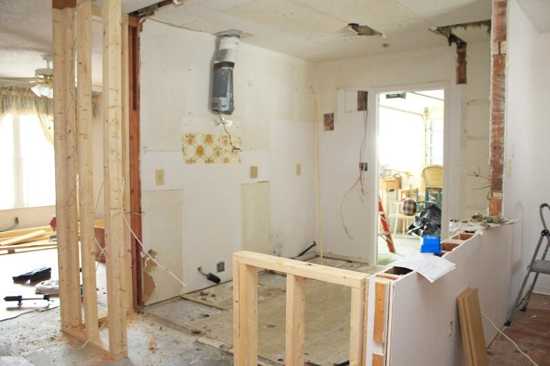 Originally alleyway kitchen.