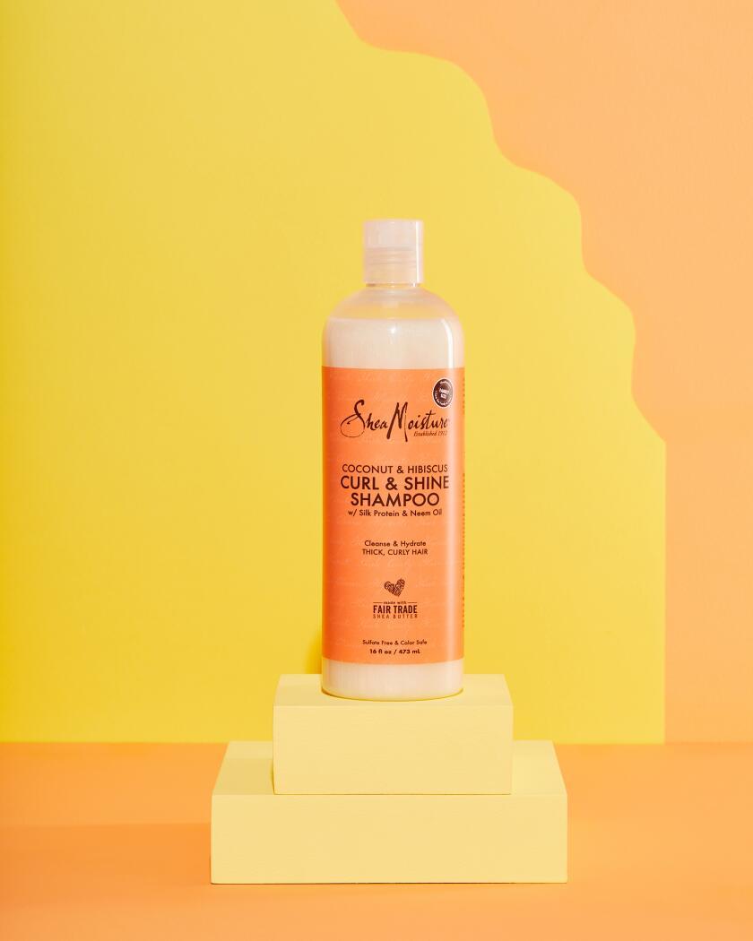 Shea Moisture Coconut and Hibiscus Curl and Shine Shampoo