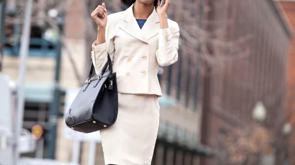 Businesswoman Denver street