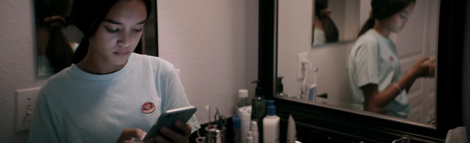 Still frame from the Netflix documentary 'The Social Dilemma'