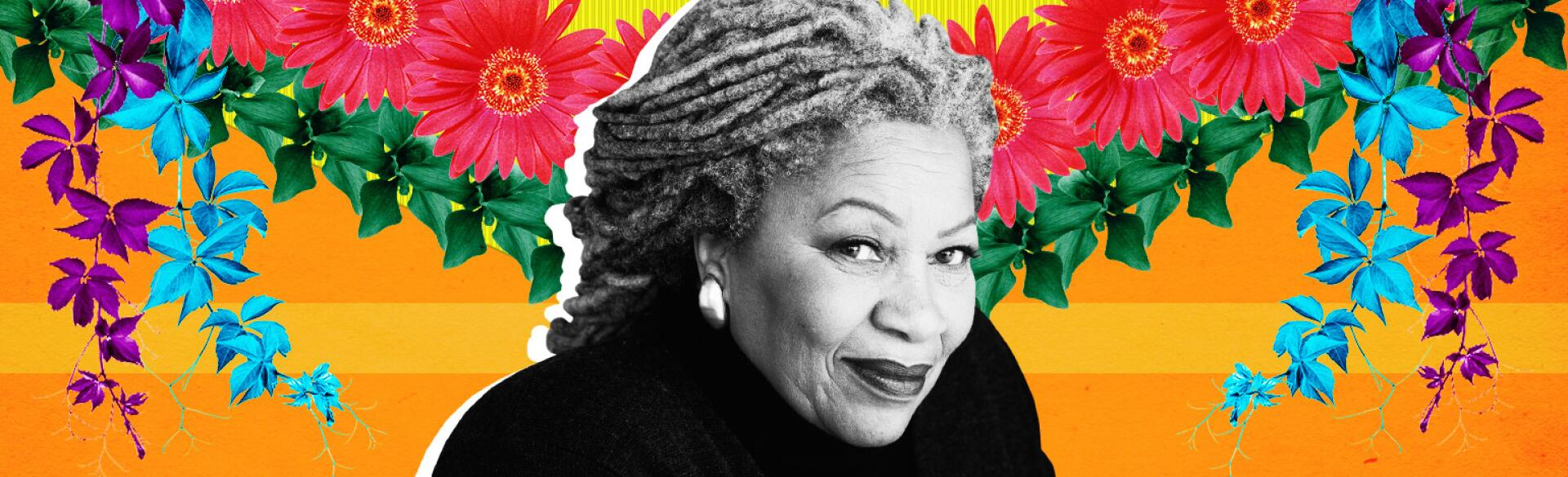 An image of author Toni Morrison, who just released her newest collection, The Source of Self-Regard.