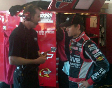 Jeff Gordon & Crew Chief