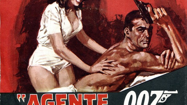 James Bond in Thunderball - Italian poster