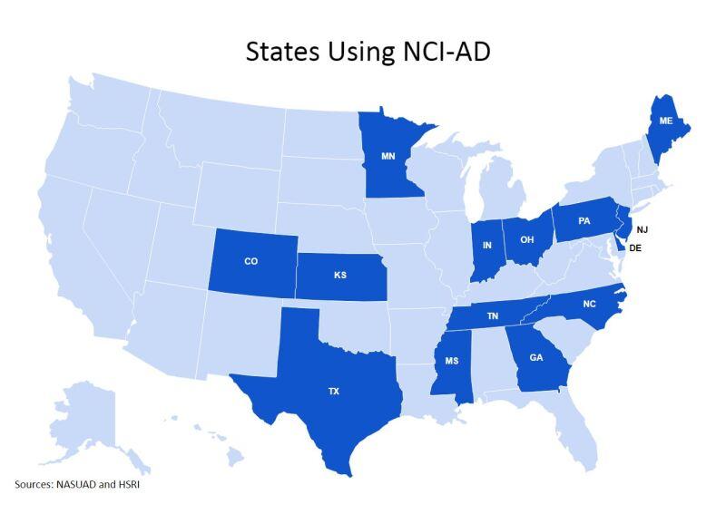 NCI-AD Map