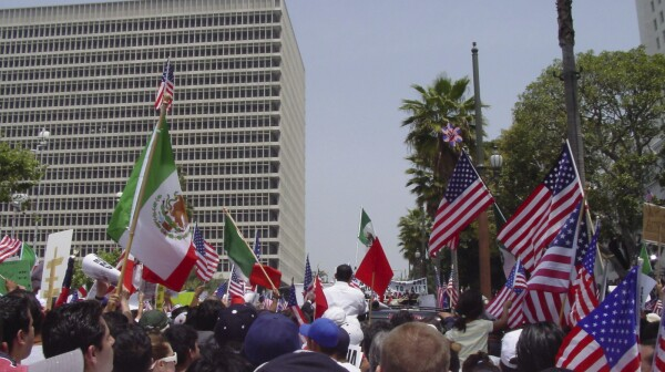 latino rally california
