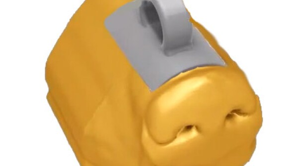 3-D Printed Dog Nose