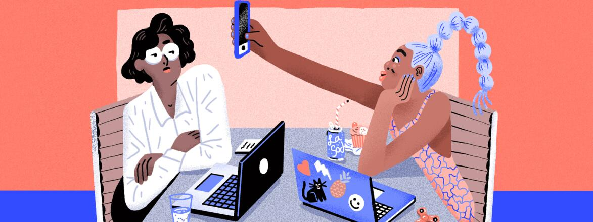 The girlfriend millenial enthusiastic how to be tech savvy