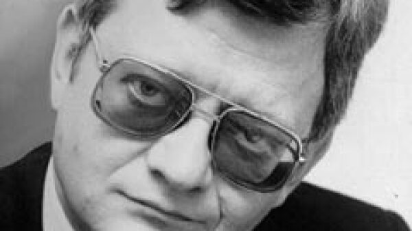 Author Tom Clancy.