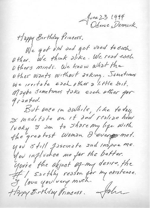 Johnny Cash Love Letter to June