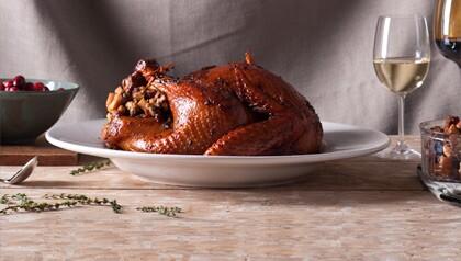 Thanksgiving turkey - pavo para cena de Acción de Gracias