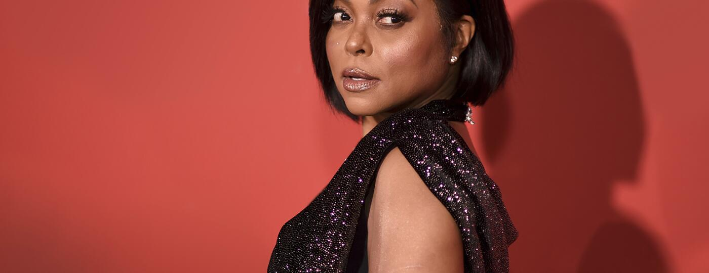 Photo of Taraji P. Henson on a red carpet
