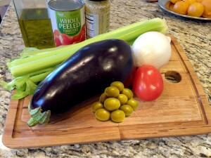 vegetales for caponata