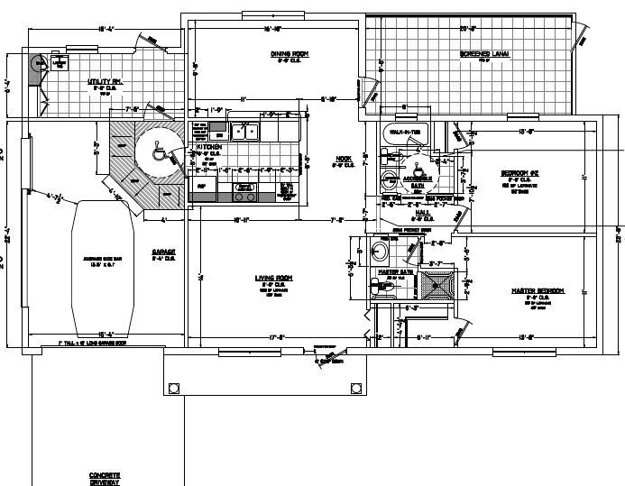 "A proposed ""aging-friendlier"" floor plan."