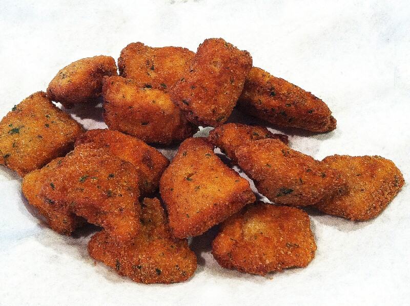 Nuggets de tilapia
