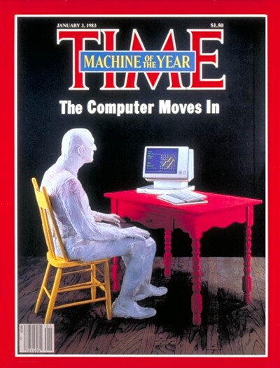 """TIME Magazine - PC named """"machine of the year"""""""