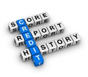 credit score Scrabble