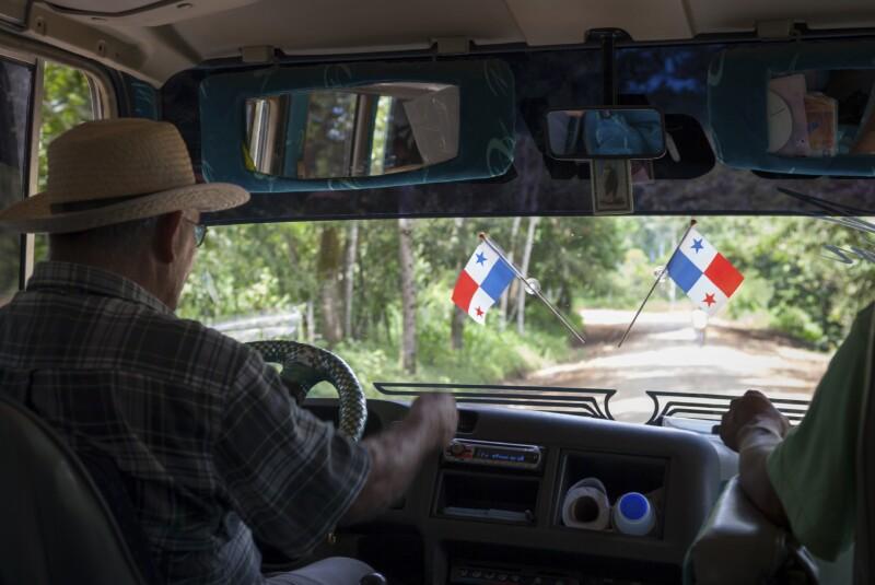 Bus travel in Bocas del Toro, Panama