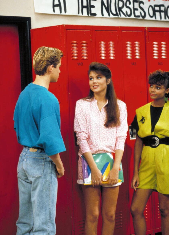 SAVED BY THE BELL, Mark Paul Gosselaar, Tiffani-Amber Theissen, Lark Voorhies, Season 3, 1989-1993 (
