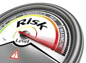 Risk level meter
