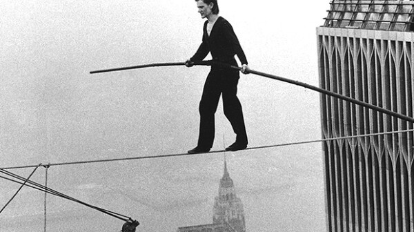 Philippe Pettit World Trade Center