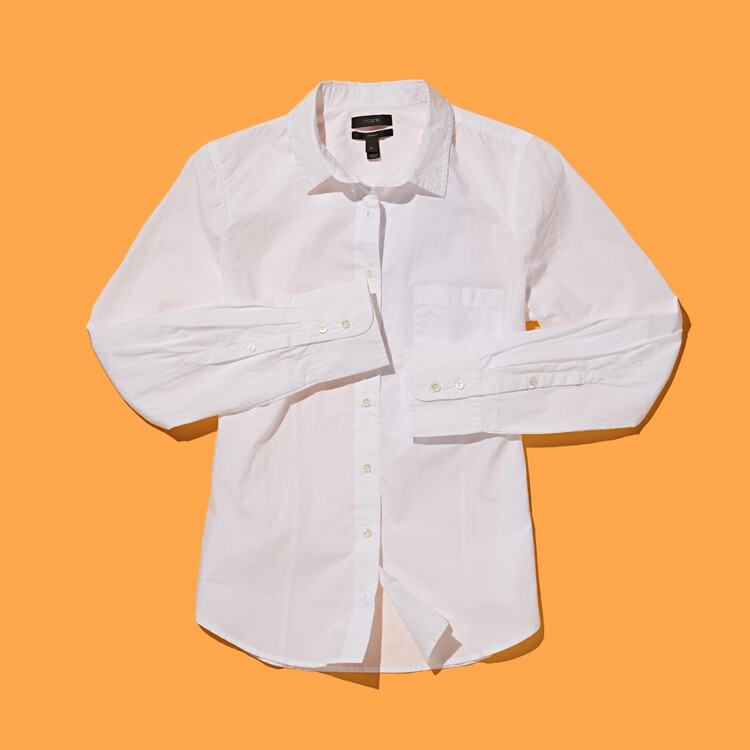 AARP, The Girlfriend, White Shirt, Perfect White Shirt, Button Down, classic, clean, top, clothes, jcrew, boden, columbia, claridge and king, Brooks Brothers