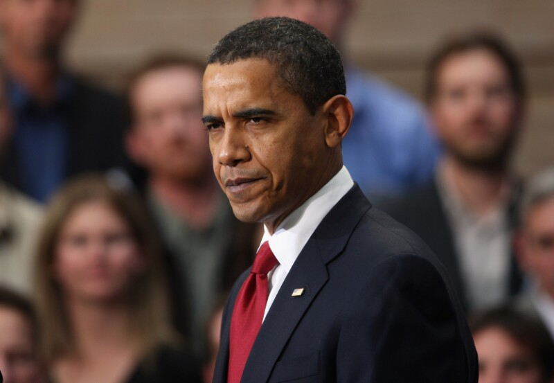 Obama Travels To Denver, Signs Stimulus Bill