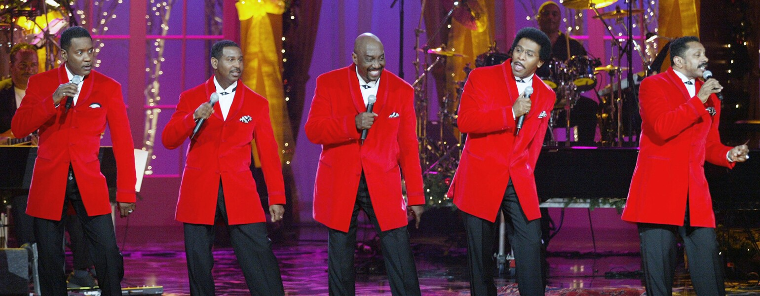 """USA Network's """"A Motown Christmas"""" Airing Sunday December 8th - Show from October 15, 2002 Taping"""