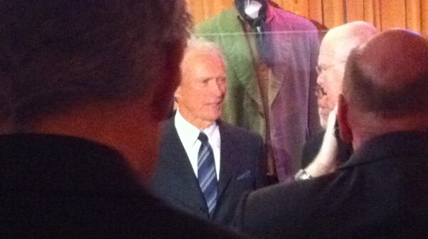 Clint Eastwood at Smithsonian