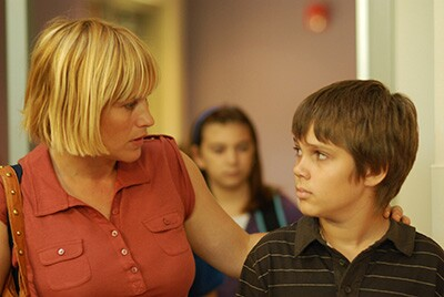 BOYHOOD, from left: Patricia Arquette, Ellar Coltrane, 2014. ph: Matt Lankes/©IFC Films/Courtesy