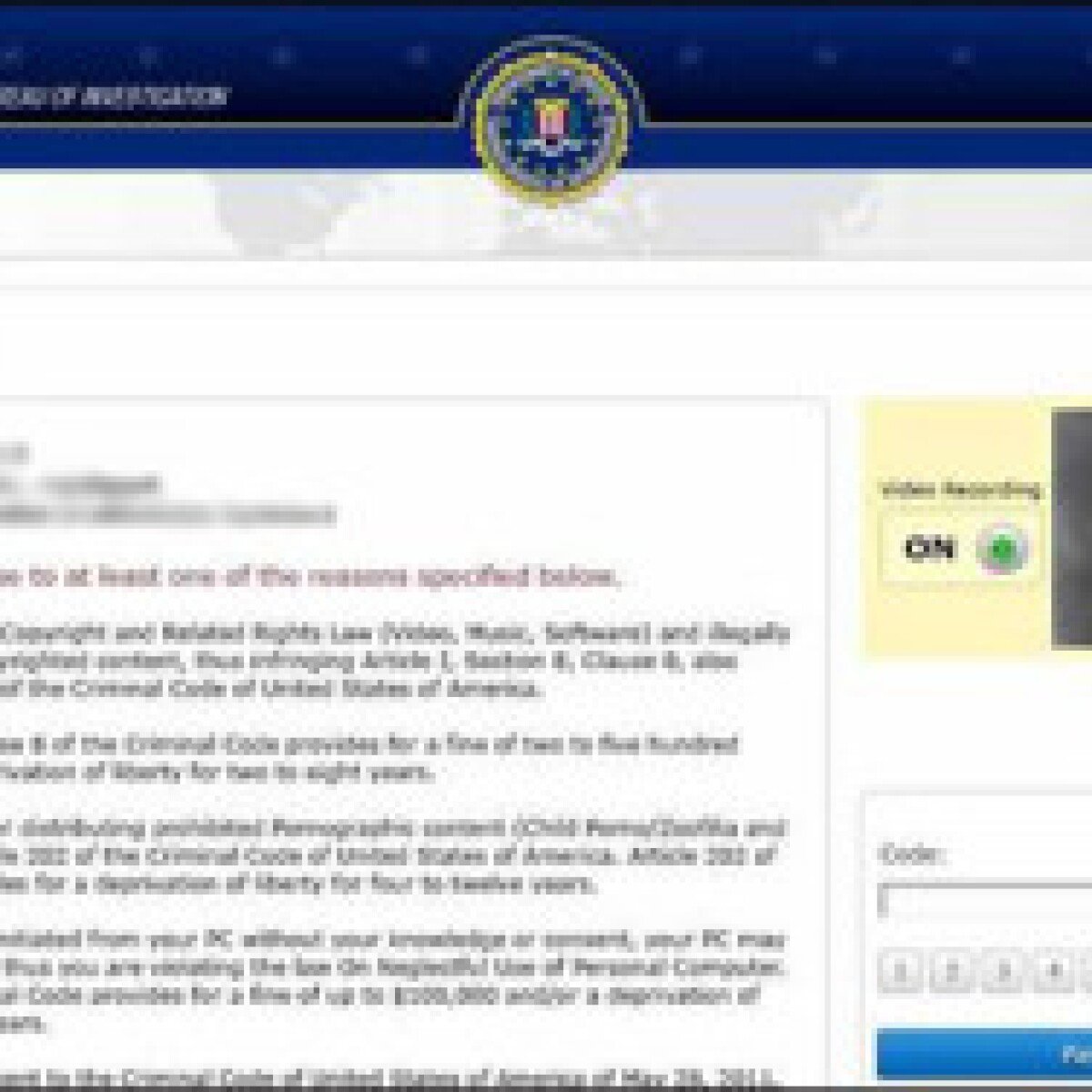 Ransomware Attacking Mac Users, Fake Messages from FBI, IC3
