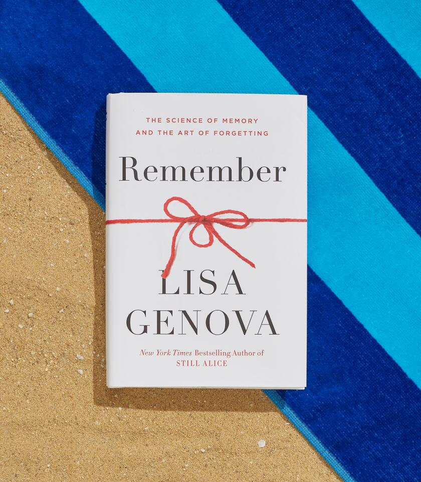 Remember: The Science Of Memory and the Art Of Forgetting by Lisa Genova