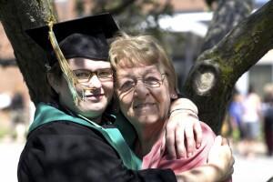 Grandparent with graduate