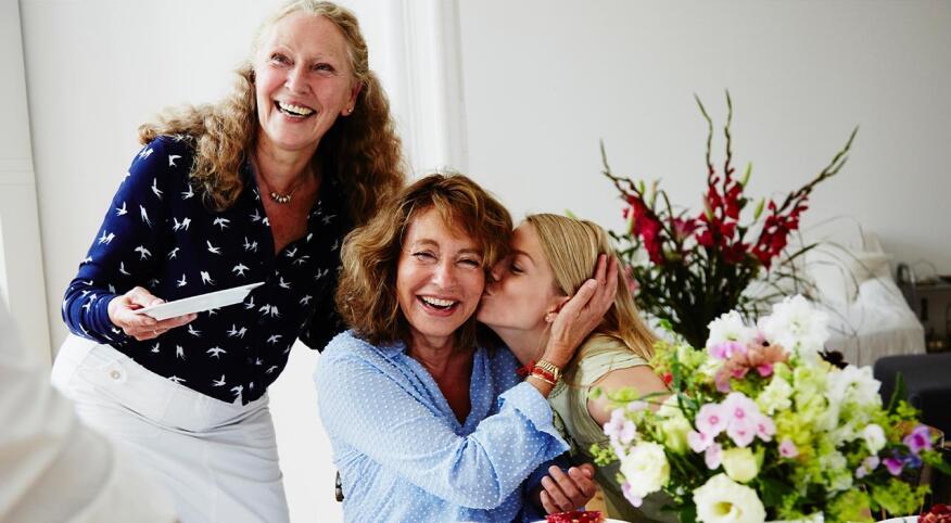 Image of 3 women smiling