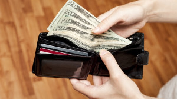 Cash ready for a purchase decision