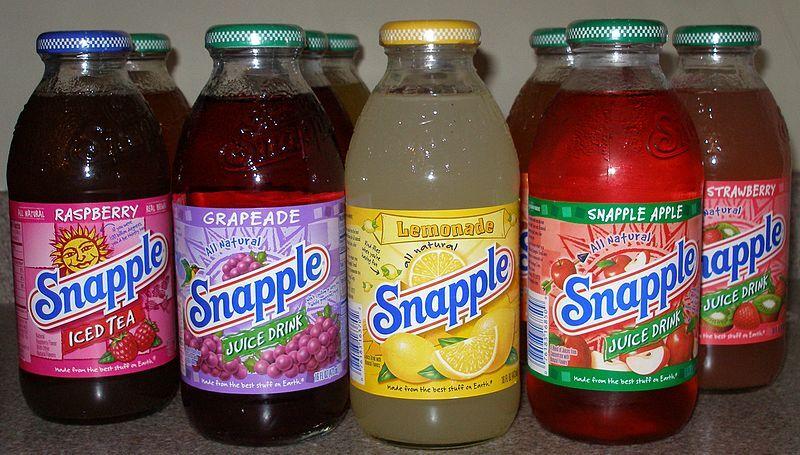 800px-Snapple_Bottles