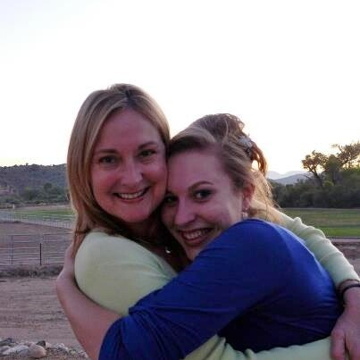 Amy & Shaelee at Copper Canyon Grad
