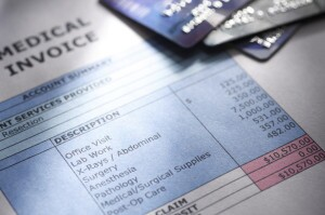 Medical invoice