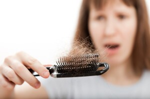 Thinning hair women