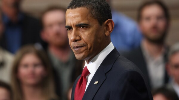 Obama Travels To Denver, Signs Stimulus Bill